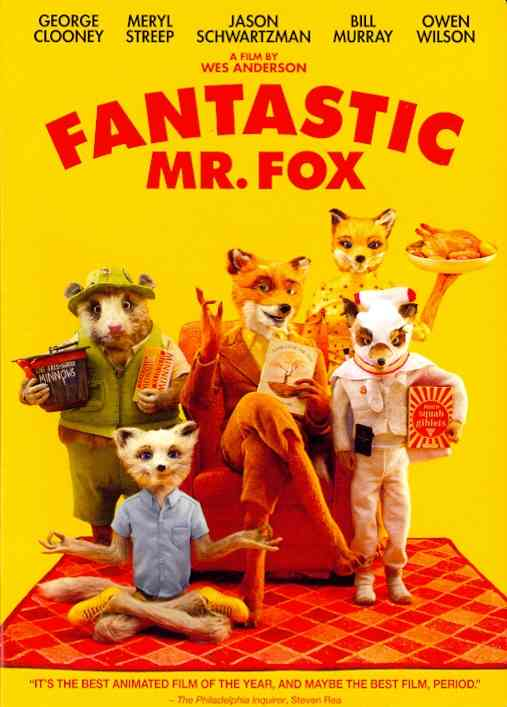 FANTASTIC MR. FOX BY CLOONEY,GEORGE (DVD)
